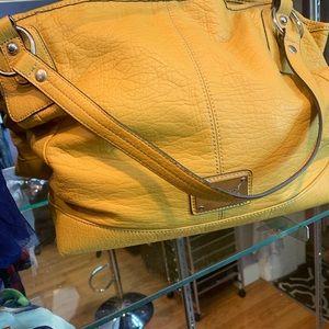 Mustard yellow Nine West shoulder bag